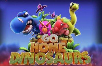logo Geht nach Hause Dinosaurier!