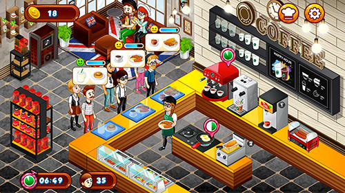 Cafe panic: Cooking restaurant para Android