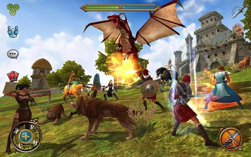 Celtic heroes: 3D MMO для Android