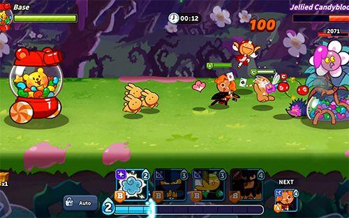 Screenshot Cookie-Kriege: Cookie-Lauf auf dem iPhone