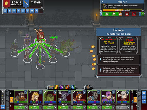 Idle champions of the forgotten realms für Android