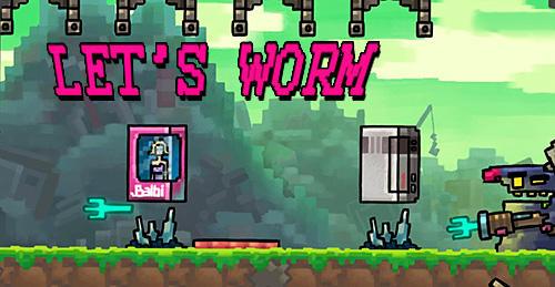 Let's worm скриншот 1