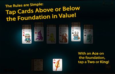 Gambling games: download Faerie Solitaire Mobile HD to your phone