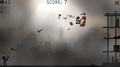 Knife attacks: Stickman battle for Android
