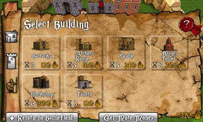 de multijoueur Battles and castles pour smartphone
