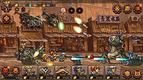 Metal slug infinity: Idle game para Android
