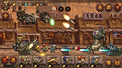 Metal slug infinity: Idle game pour Android