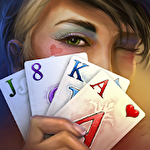 Tri peaks solitaire: Cards queen icon