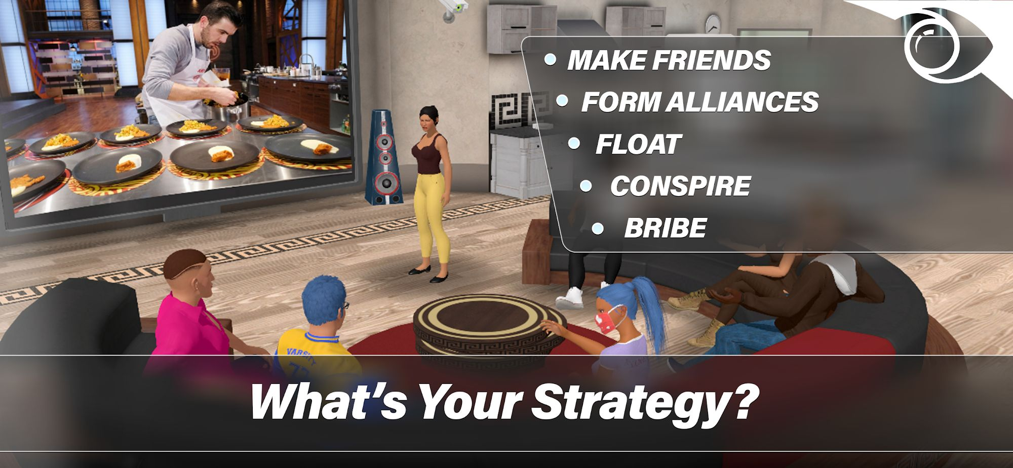 Big Brother: The Game スクリーンショット1
