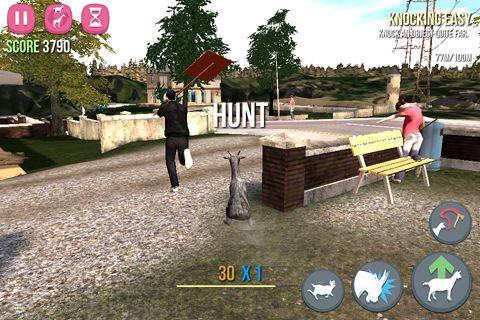 Simulador de cabra para iPhone