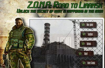 logo Z.O.N.A: Camino hacia  Limansk