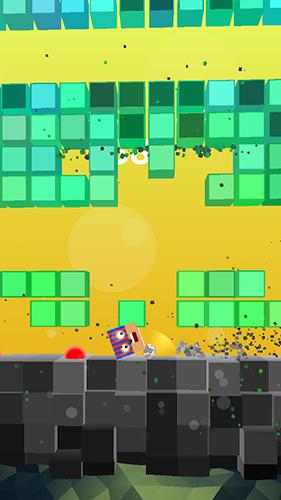 Arcade-Spiele Dodge flush für das Smartphone