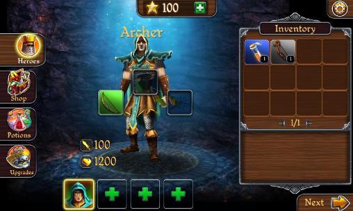 RPG-Spiele Defenders of Suntoria für das Smartphone
