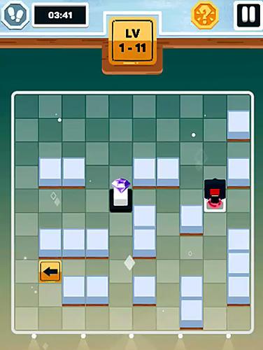 Logik Diamond drop: Sacrifice puzzle für das Smartphone