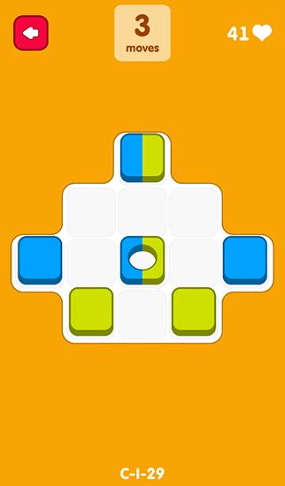Logik Re-move blocks für das Smartphone