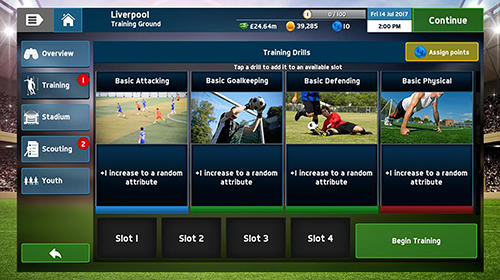 Soccer manager 2018 pour Android