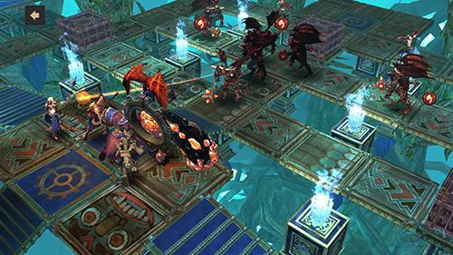 Dungeon simulator: Strategy RPG capture d'écran 1