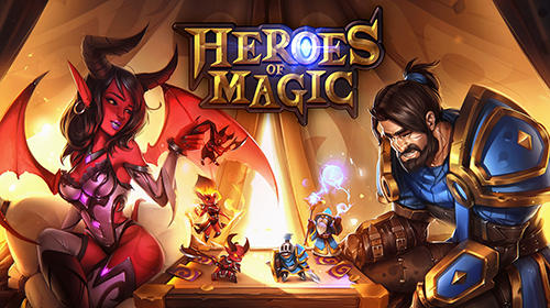 Heroes of magic: Card battle RPG скріншот 1