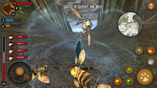 アンドロイド用ゲーム ウルフス・オブ・ザ・フォーレスト のスクリーンショット
