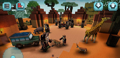 Savanna safari craft: Animals für Android