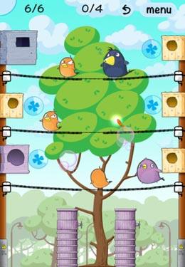 Screenshot Glückliche Vogelstadt auf dem iPhone