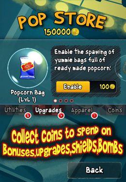 Arcade-Spiele: Lade Pop Corny auf dein Handy herunter