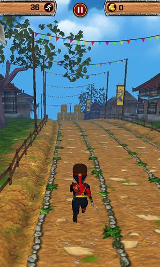 Ninja blades: Brim run 3D für Android