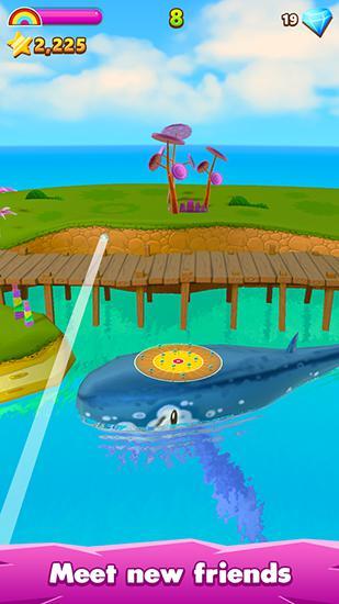 Flick golf island Screenshot
