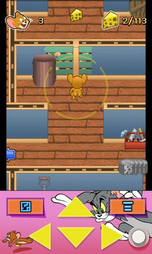 Games based on cartoons Tom and Jerry: Mouse maze in English