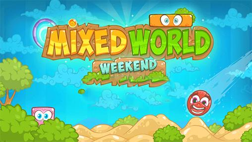 Mixed world: Weekend icon