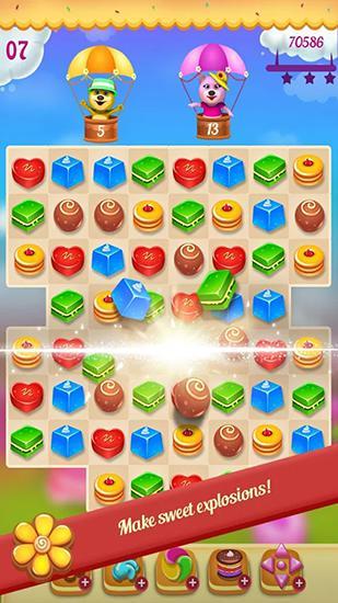 マッチ3ゲーム Cookie paradise の日本語版