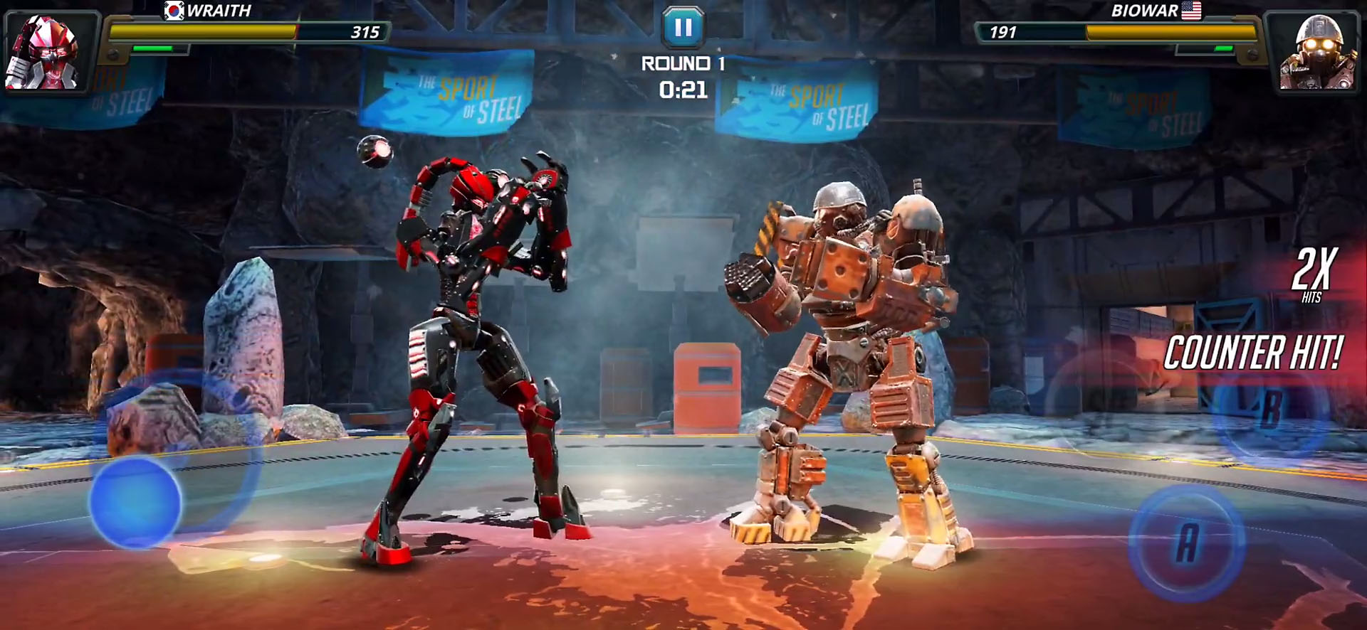 World Robot Boxing 2 скріншот 1