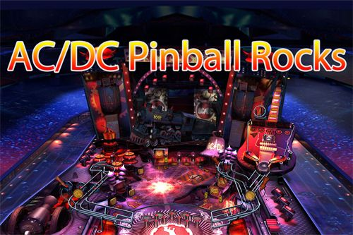 Screenshot AC/DC Pinball Rocks auf dem iPhone