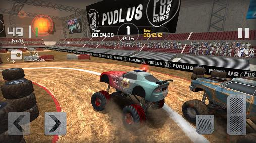 Monster truck race für Android