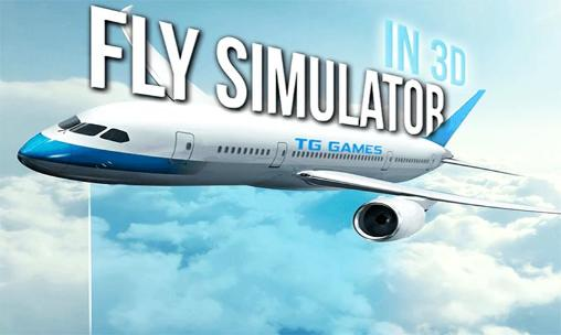 Flight simulator 2015 in 3D icône