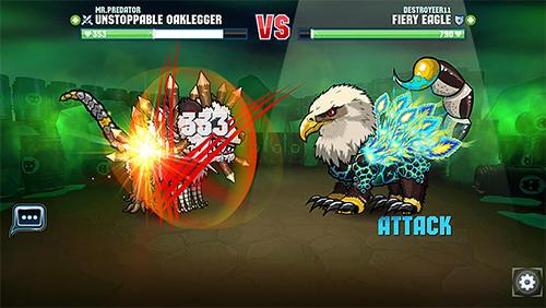 怪物 Mutant fighting arena英语