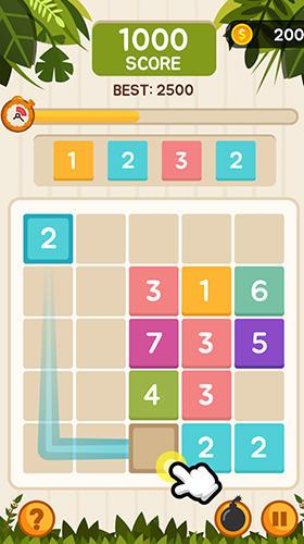 Logikspiele Tap and merge für das Smartphone