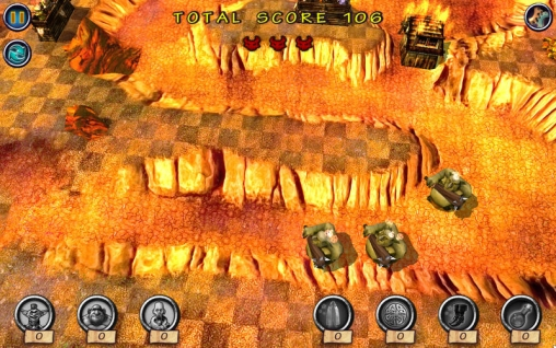 Monster Trouble Dark Side for iPhone for free
