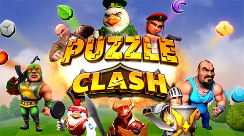 Puzzle clash: A match 3 RPG captura de tela 1