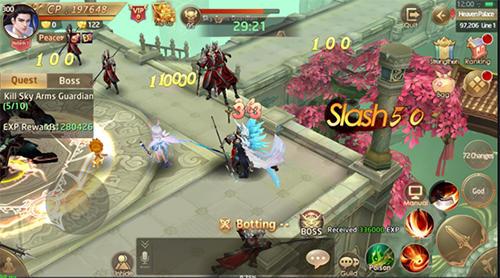 Online RPGs Celestial fate auf Deutsch