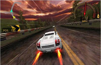 Screenshot Need For Speed Undercover auf dem iPhone