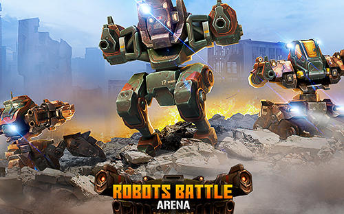 Robots battle arena: Mech shooter скриншот 1