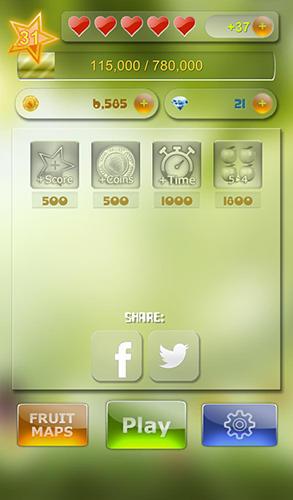 Arcade Match 3 fruit für das Smartphone