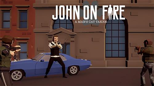 John on fire: A man's cat taken Screenshot