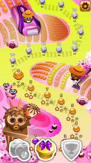 Spiele für Kinder Sweet bubble story auf Deutsch