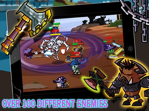 Héroes contra monstruos para iPhone gratis
