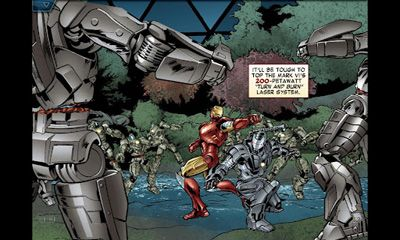The Avengers. Iron Man: Mark 7 para Android