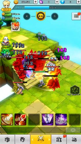Strategische RPG-Spiele Legends knight RPG auf Deutsch