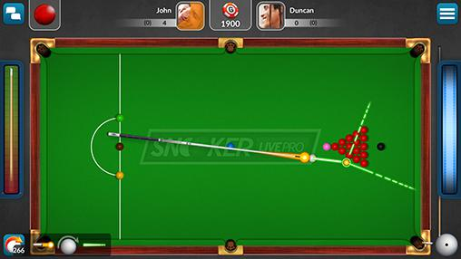 Snooker live pro captura de pantalla 3