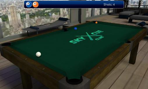 Billard-Spiele Sky cue club: Pool and Snooker auf Deutsch